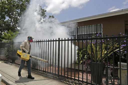 Zika outbreak prompts travel warning for area of Miami