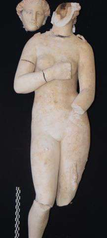 Researchers unearth ancient mythological statues in jordan