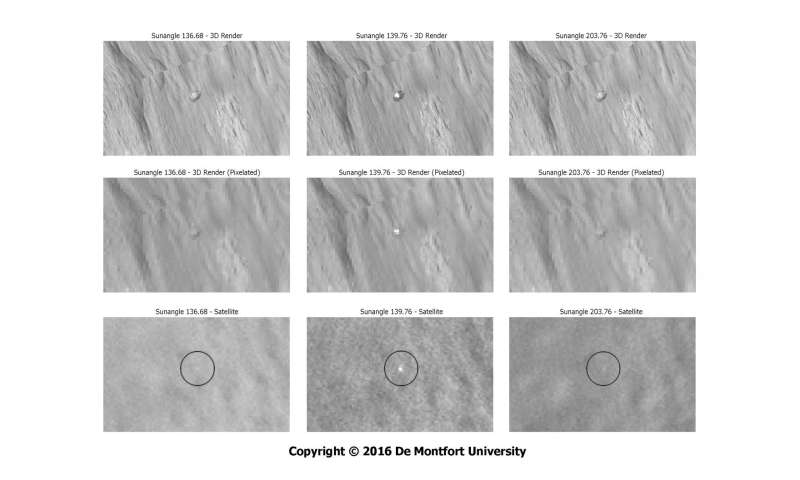Researchers use novel analysis technique to help solve Beagle 2 mystery