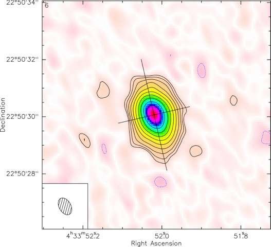 Astronomers find giant planet around very young star