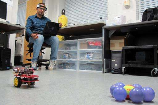 Ready, set, think! Mind-controlled drones race to the future