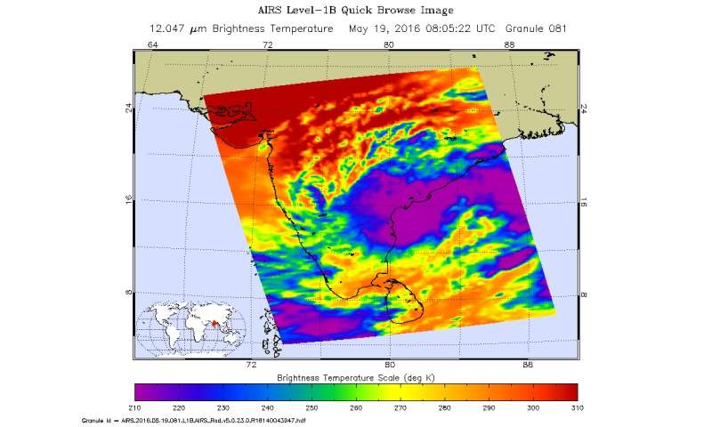 Tropical Cyclone 01B named Roanu and is strengthening