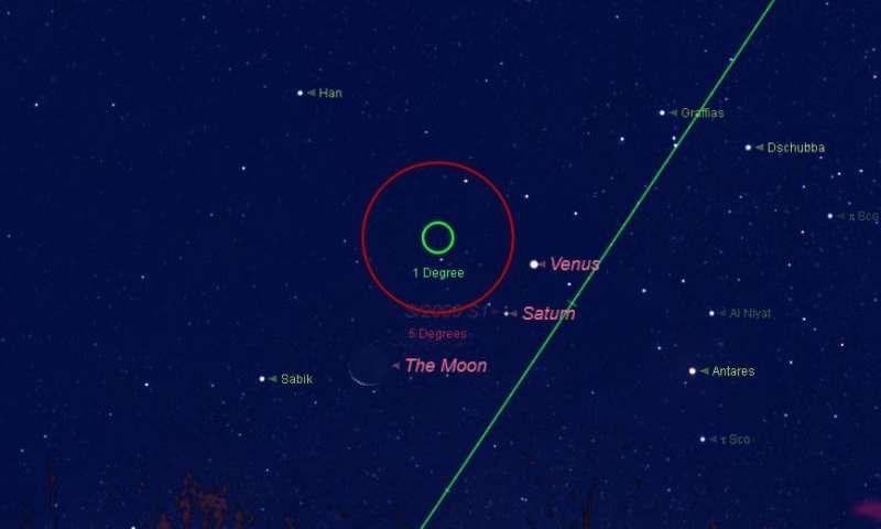 Watch Venus brush past Saturn this weekend