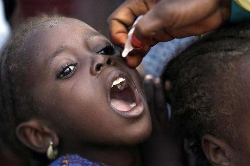 WHO confirms 3rd case of polio in Nigeria, Rotary Club says