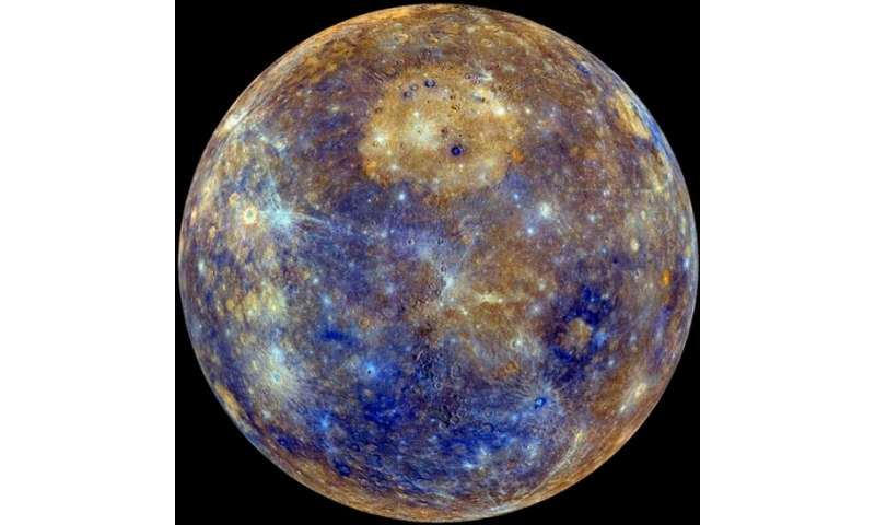 Researchers find most volcanic activity on Mercury stopped about 3.5 billion years ago