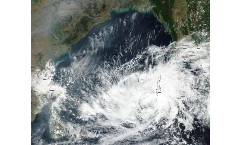 NASA sees Tropical Cyclone 05B form