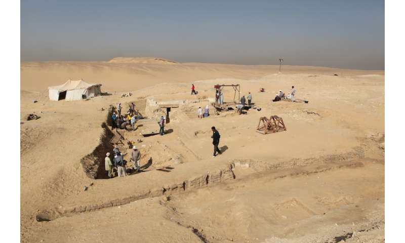 Archaeologists unearth unique Egyptian boat from the pyramid age