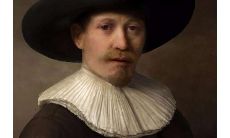'The Next Rembrandt' portrait unveiled in Amsterdam