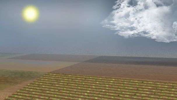 Raindrop splash is a surprise source of fine soil particles in the atmosphere