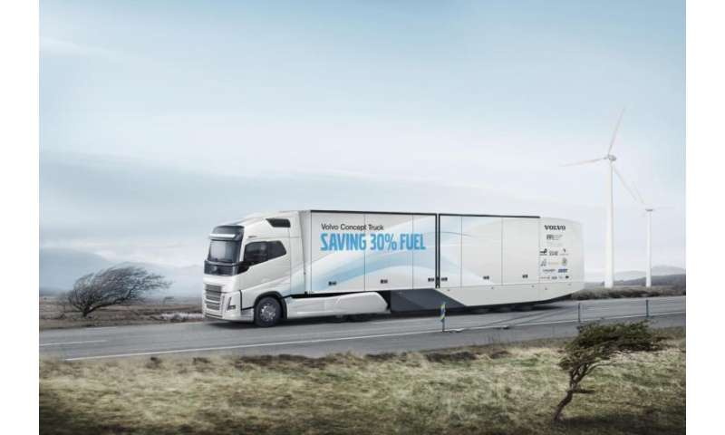 Volvo Trucks' new concept truck cuts fuel consumption by more than 30%