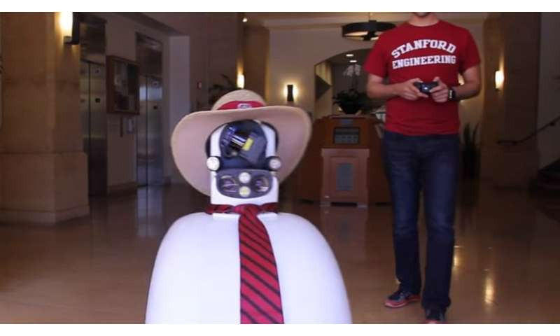 Social robot 'Jackrabbot' seeks to understand pedestrian behavior (w/ Video)