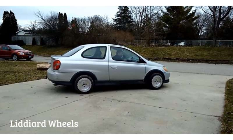 Car wheels that go in surprising directions could make parking actually fun