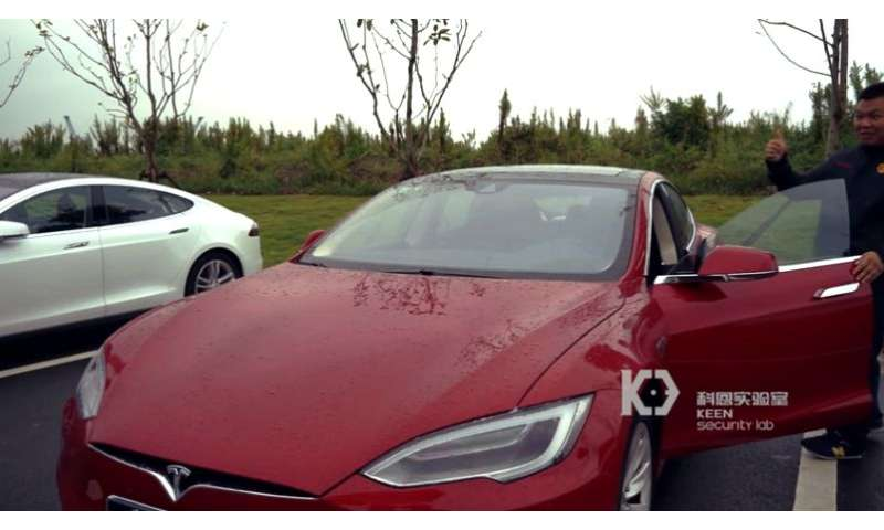 Security team demonstrates ability to hack and control some functions of Tesla vehicles