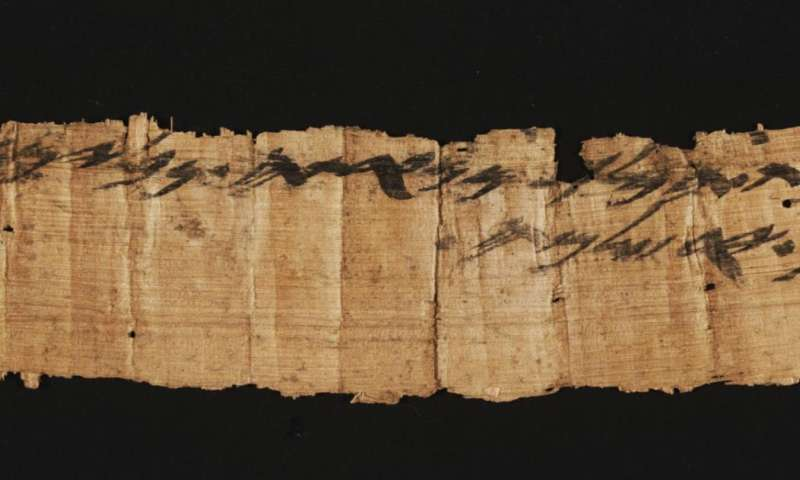 Important ancient papyrus seized from looters in Israel