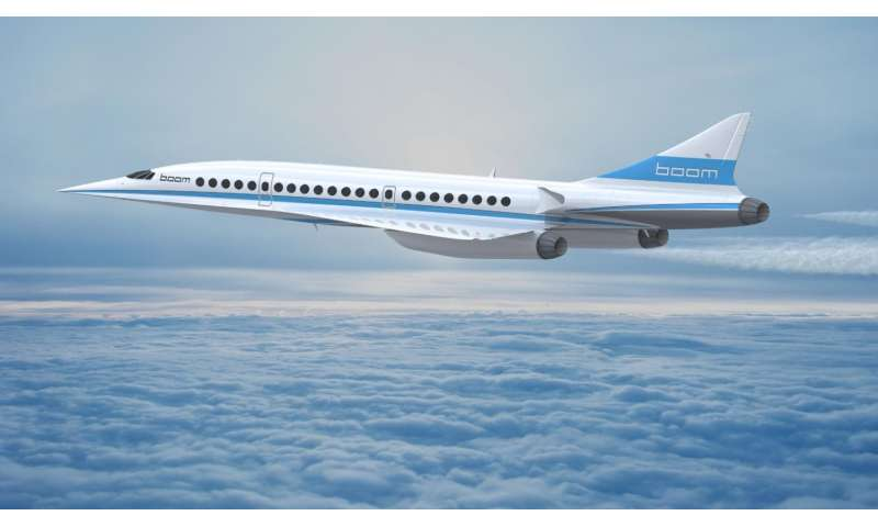 Supersonic jet travel: Just hopping continents