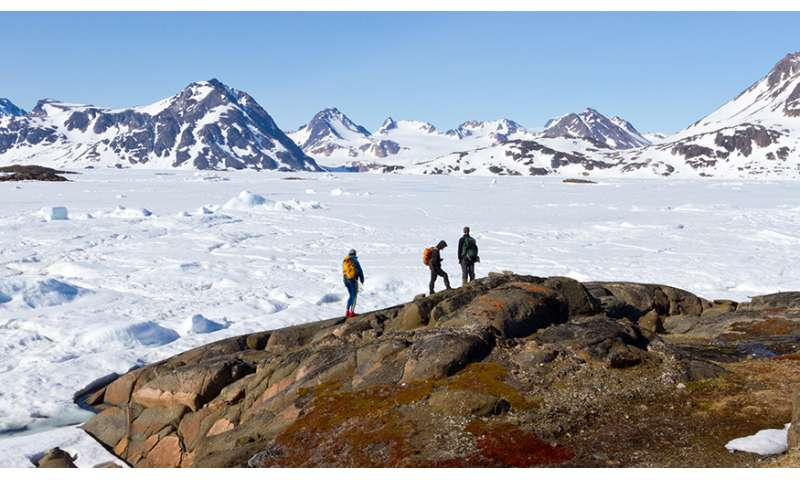 East Greenland ice sheet has responded to climate change over the last 7.5 million