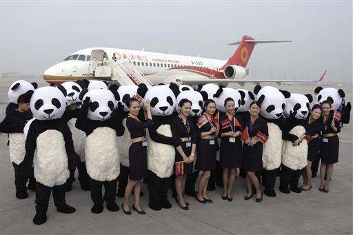 First made-in-China jetliner makes debut commercial flight