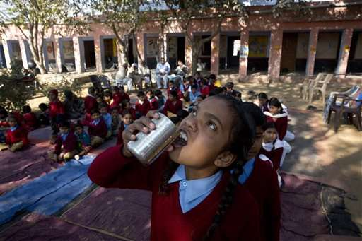 India launches campaign for deworming millions of children