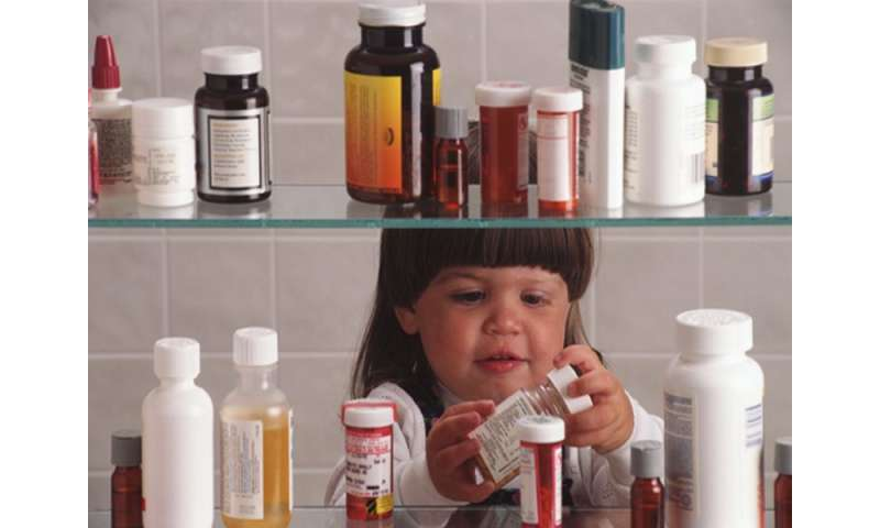 60,000 U.S. kids treated for accidental medicine poisoning a year