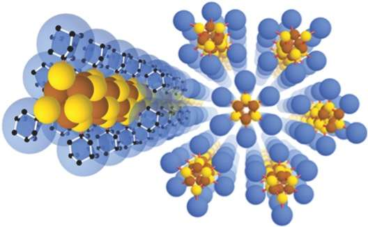 Researchers use world's smallest diamonds to make wires three atoms wide