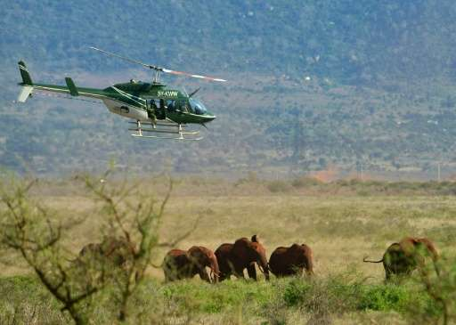 Conservationists fear the new train route slicing through the giant Tsavo national park will affect the movement of elephants