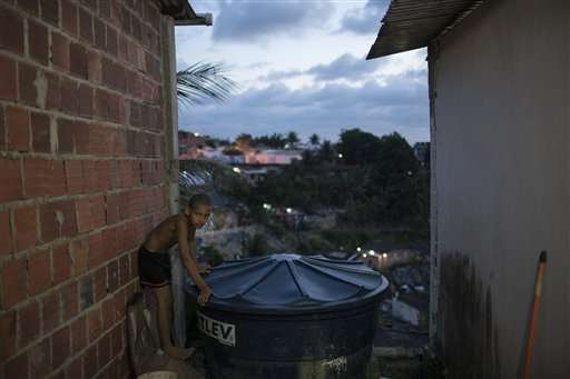 Life at Zika epicenter a struggle for afflicted family