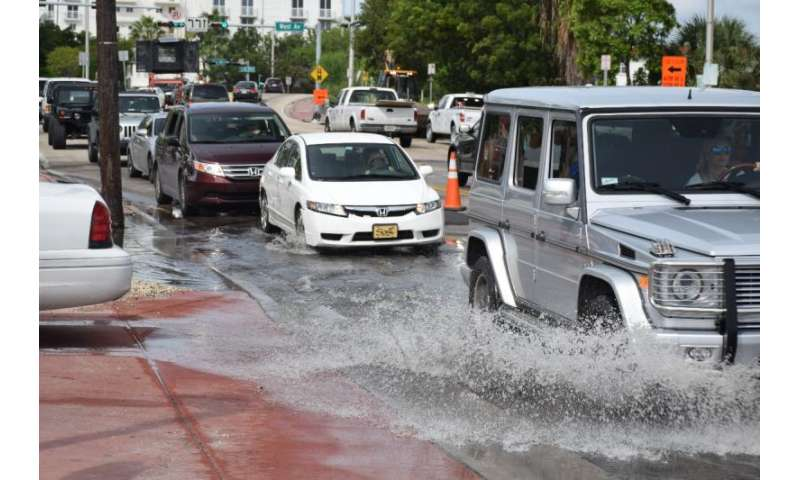 New study shows increased flooding, accelerated sea-level rise in Miami over last decade
