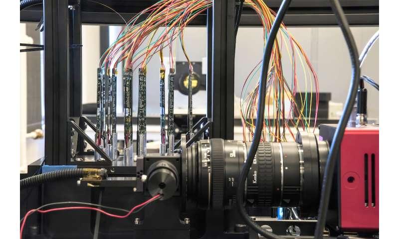Researchers gear up galaxy-seeking robots for a test run