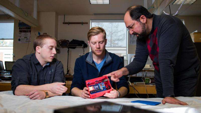 Researchers' wireless leak detection system bound for International Space Station