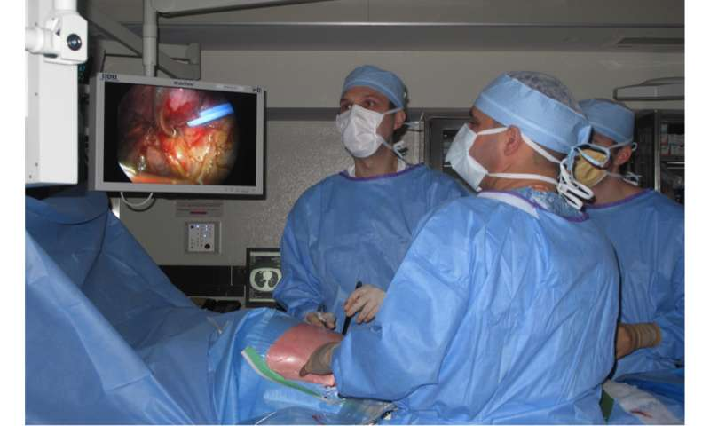 Revolutionary surgery for lung cancer