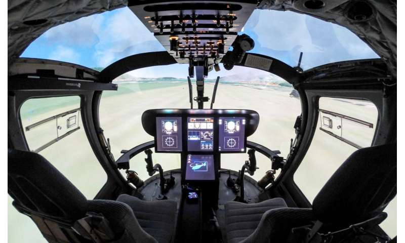 Augmented reality enables helicopter flight in degraded visual environments