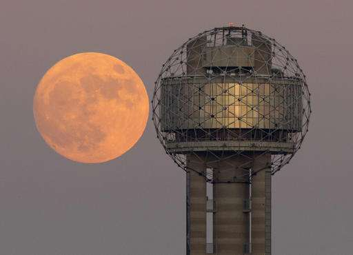 Brightest moon in almost 69 years lights up sky around globe