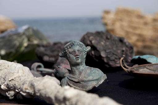 Israeli divers uncover trove of shipwrecked Roman treasure