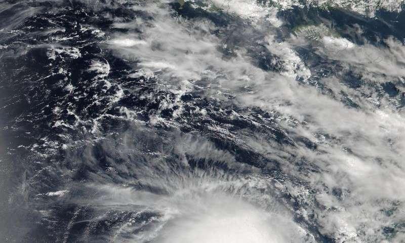 NASA sees Tropical Cyclone Stan threaten Australia's Pilbara Coast