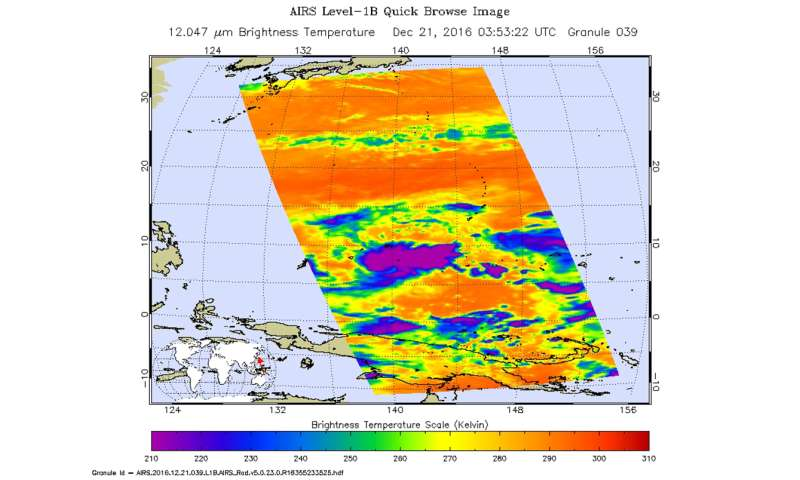 NASA spots Tropical Depression 30W form in Northwestern Pacific