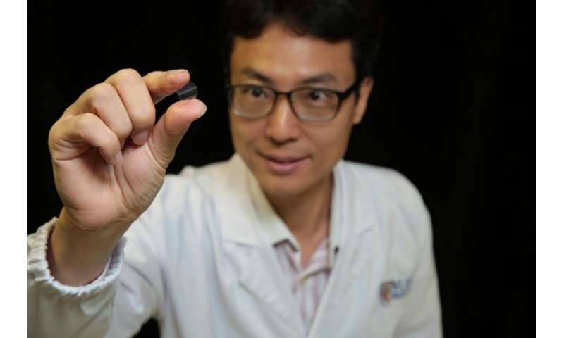 Research team led by NUS scientists develop plastic flexible magnetic memory device