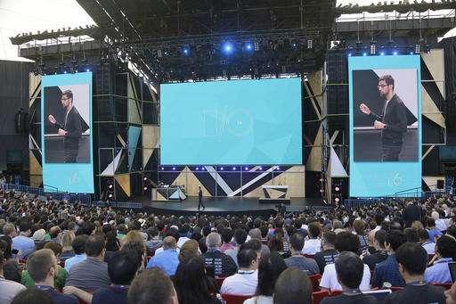 Smart-home speaker, VR system, chat service from Google
