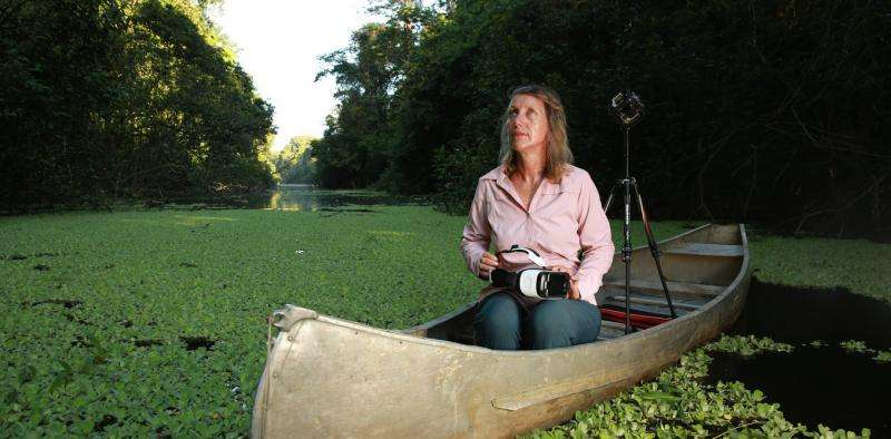 Virtual reality brings new dimension to conservation