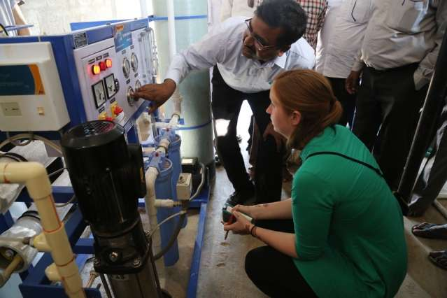 Researchers design a solar-powered desalination device for rural india