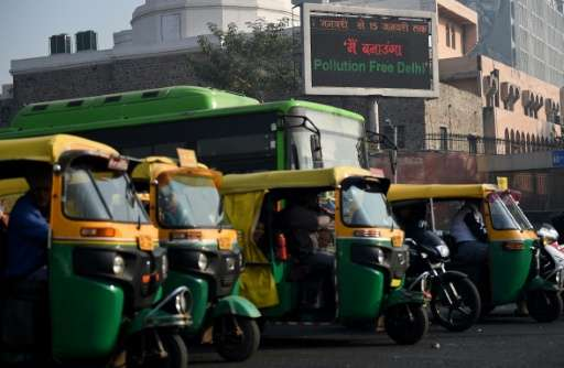 A 2014 World Health Organisation survey of more than 1,600 cities ranked Delhi as the most polluted, partly because of the nearl