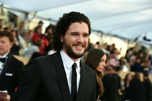 """Actor Kit Harington plays Jon Snow in """"Game of Thrones"""", which won the Webby for Best Overall Social Presence"""