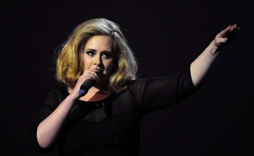 """Adele's """"25"""" was by far the top-selling album in both the US and Britain for 2015 even though it came out on November"""