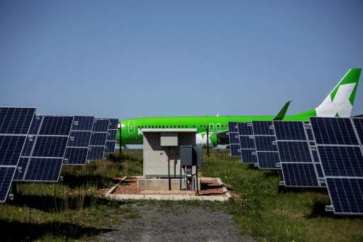 Africa gets is first solar-powered airport in George, with a plant that converts solar energy into direct current electricity us
