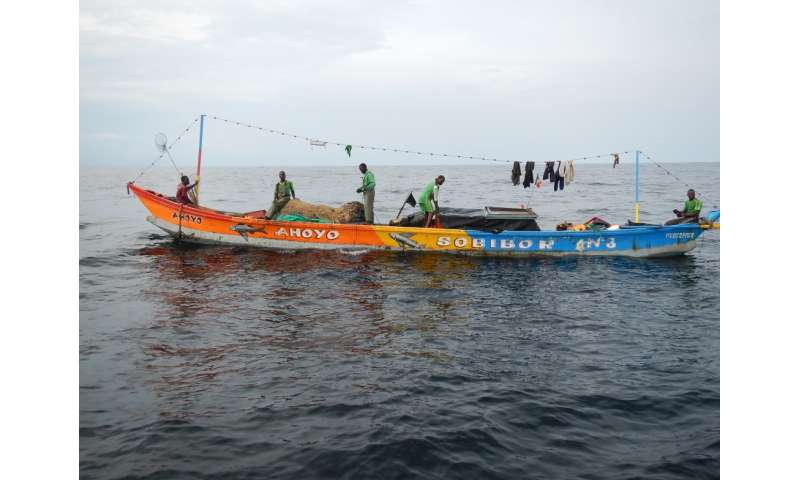 African fishers undertake highly risky expeditions to make a living