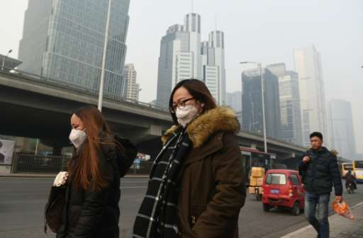 Airvisual.com, based in Beijing, has designed a personal pollution measuring device that can feed air quality data into a worldw