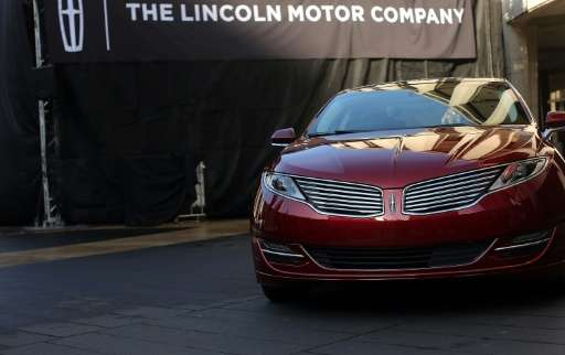 A Lincoln MKZ sedan hit the road in Canada as Ontario is hoping to grab some of the billions of dollars being spent to develop v