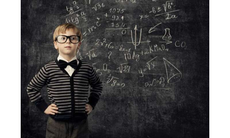 A little fun with mathematics early in life can go a long way, says education professor