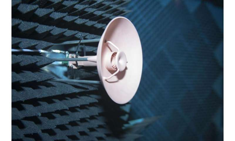 All-in-one, 3D-printed space antenna