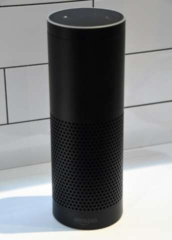 "Amazon Echo models are infused with Alexa virtual assistant software that can be built into anything ""from a lawn sprinkler"