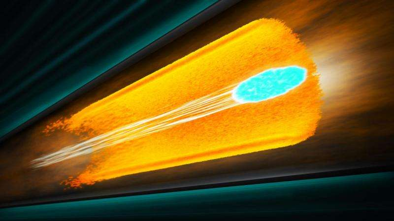 A plasma tube to bring particles up to speed at SLAC